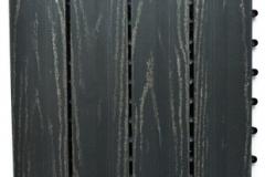 WPC dlaždice přímková rustical šedý kámen