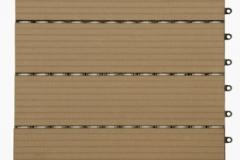 WPC dlaždice přímková - světlý dub - BET komposit