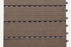 WPC dlaždice přímková - tmavý kaštan - BET komposit
