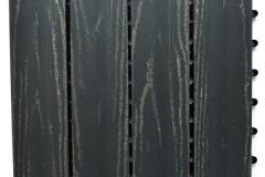WPC dlaždice přímková rustical - šedý kámen - BET komposit