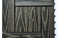 WPC dlaždice zámecká rustikal - šedý kámen - BET komposit