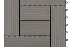 WPC dlaždice zámecká - šedý kámen - BET komposit